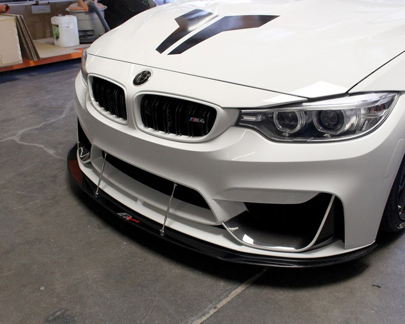 Carbon Fiber Rods >> APR Performance Carbon Fiber Front Splitter with Rods for M Performance Lip BMW F82 M4 - Boosted ...
