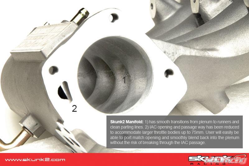 Skunk2 Pro Series Aluminum Intake Manifold Acura Integra GSR B18C1 94-01